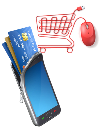 eCommerce websites and mobile sites